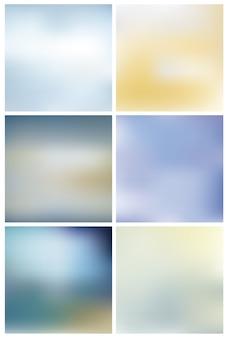Collezione di sfondo chiaro