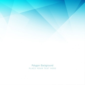 Light blue color polygonal background