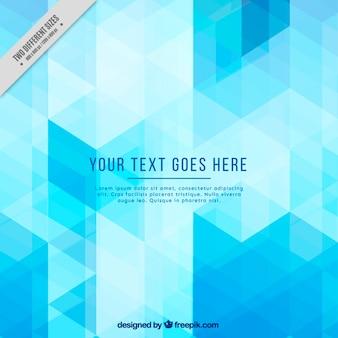 Light blue geometric background