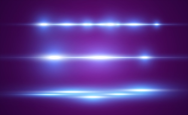 Light blue line special effect. glowing bright stripe.