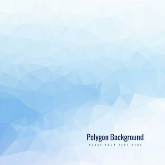 Light blue polygonal background