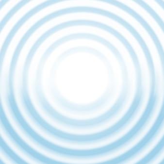 水色の波状の背景テンプレート。