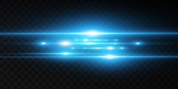 Light blue  special effect. glowing beautiful bright lines on a dark background.