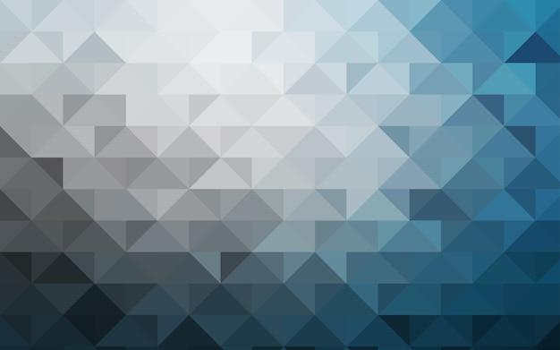 Light blue vector blurry triangle template