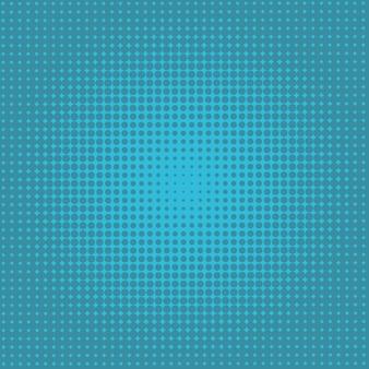 동그라미로 구성 된 밝은 파란색 벡터 일러스트 레이 션. 귀하의 비즈니스에 대한 점선 그라디언트 디자인. 컬러 반점과 함께 하프 톤 스타일의 창조적 인 기하학적 배경.