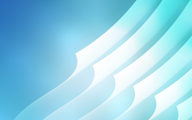 Light blue vector pattern with sharp lines