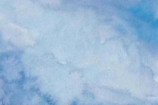 Голубая акварель мягкая текстура фон