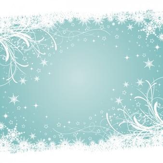 Sfondo azzurro inverno