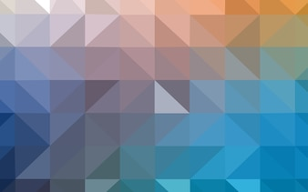 Light Blue, Yellow polygon abstract backdrop.