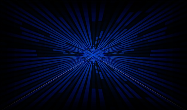 Light blue zoom abstract background