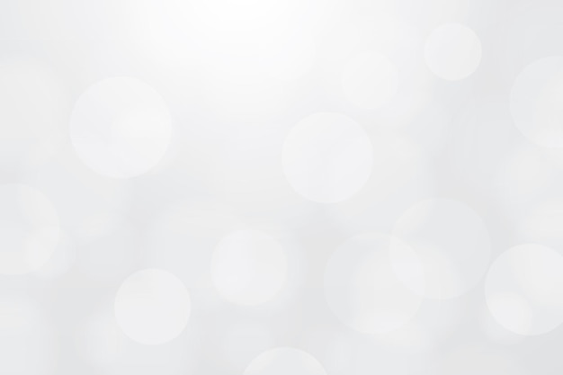 Light blurred bokeh background. vector illustration.