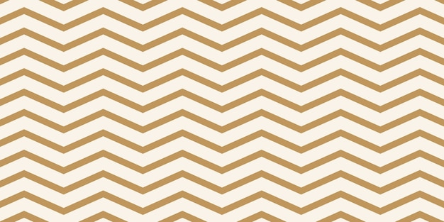 Light brown zigzag pattern