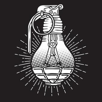 Light bulb grenade
