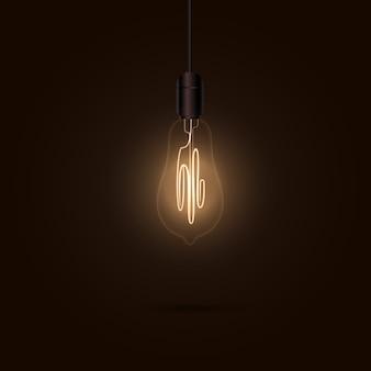 Лампочка в темноте