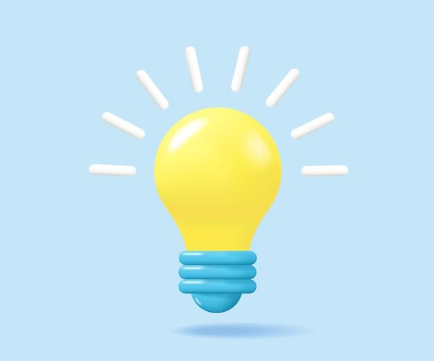 Лампочка, векторные иллюстрации.