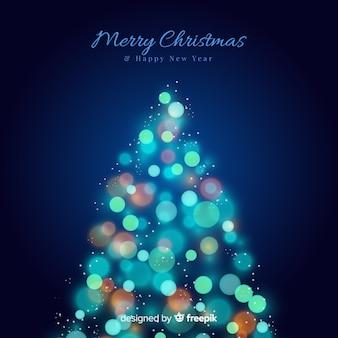 Light christmas tree