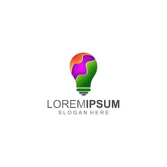 Light colorful logo