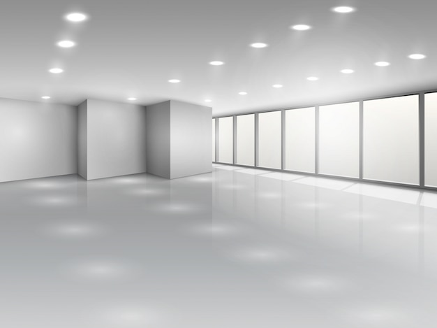 가벼운 회의실 또는 사무실 광장 내부