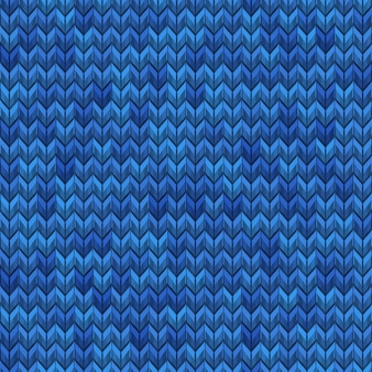 Light and dark blue realistic simple noise knit seamless pattern. and also includes