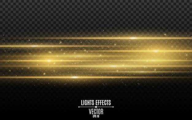 Световой эффект абстрактные лазерные лучи света. хаотические неоновые лучи света.
