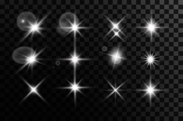 光の効果ブライトスターライトが爆発する