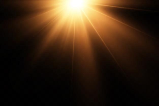 Иллюстрация светового эффекта