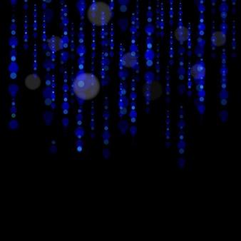 조명 효과 세트. 빛나는 별, 태양 입자 및 스파크와 함께 하이라이트 효과, 컬러 보케 조명이 반짝이고 스팽글. 어두운 배경에 투명합니다. 벡터, eps10.