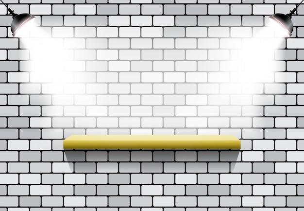 Light effect stand brick