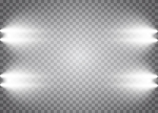 Light effects spotlights