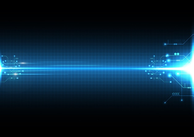 Легкий взрыв абстрактный фон технологии