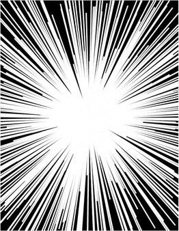 LIght explosion on sunbeam background