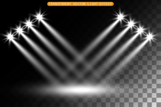 Light flare special effect. illustration