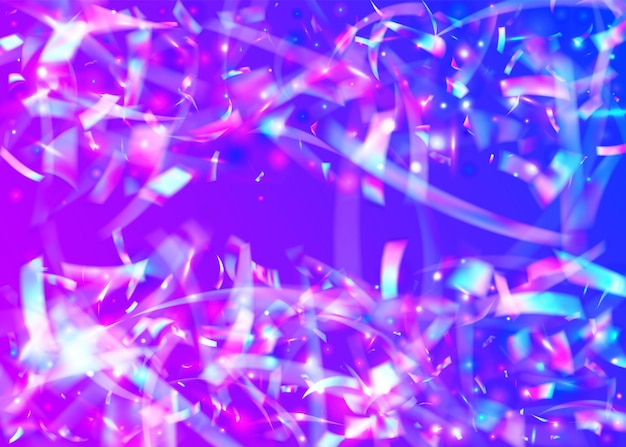 Light glare. laser banner. purple retro effect. blur prismatic t