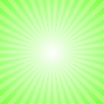 Light green abstract dynamic starburst background