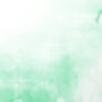 Light green elegant watercolor background