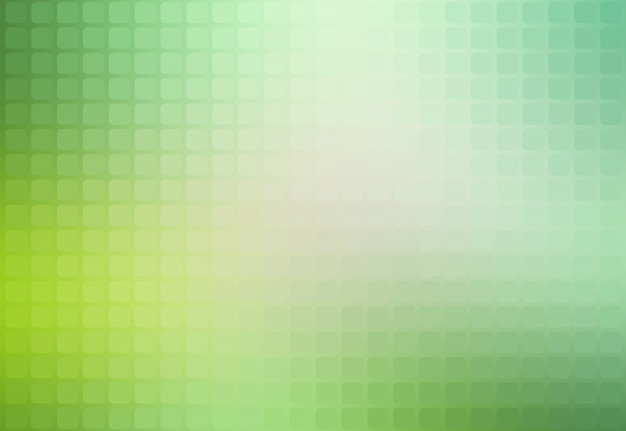 Light green shades abstract rounded mosaic background