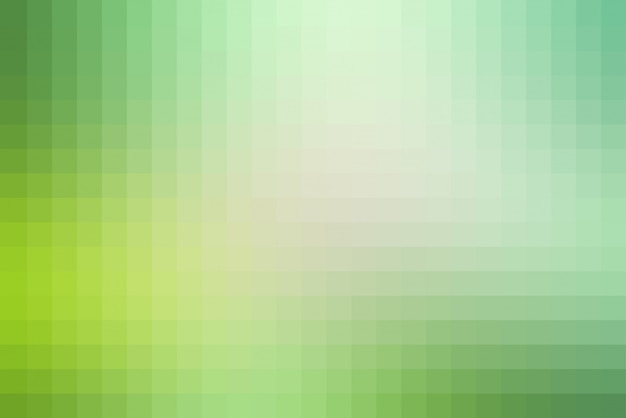 Light green shades mosaic square tiles