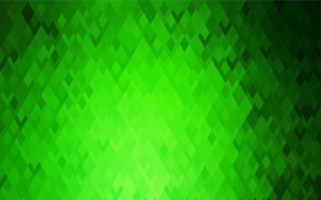 Light green vector low poly background