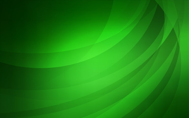 Light green vector template with bubble shapes
