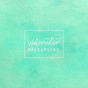 Light green watercolor background