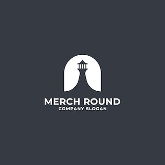 Light house logo premium