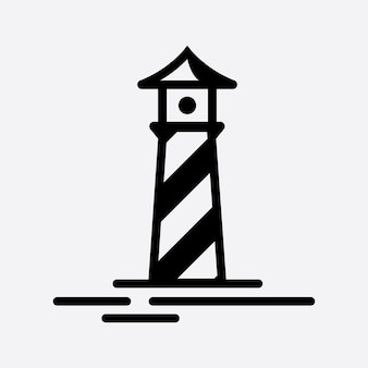 Световой дом логотип вектор шаблон