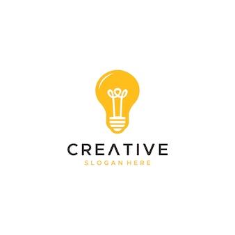 Light interior logo icon illustration