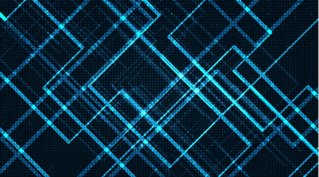 ライトマイクロチップ、ネオンデジタルおよびセキュリティコンセプトデザイン、