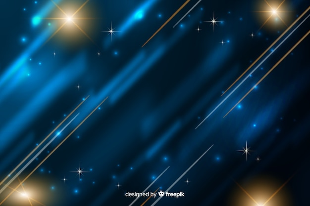 Light movement background flat design