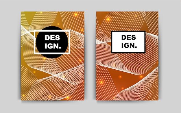 Light orange vector background for presentations