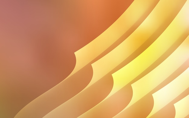 Light orange vector pattern with sharp lines