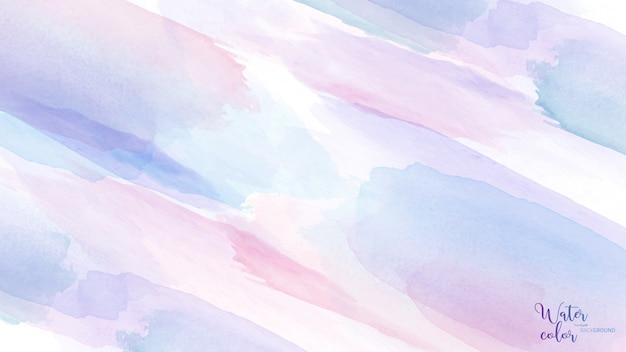 Светлый пастельный фон акварельной кисти