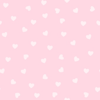 Light pink heart pattern