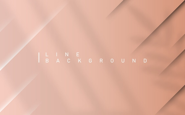 Light pink luxury background. premium diagonal line abstract colorful background with overlay leaf and window light dynamic shadow.